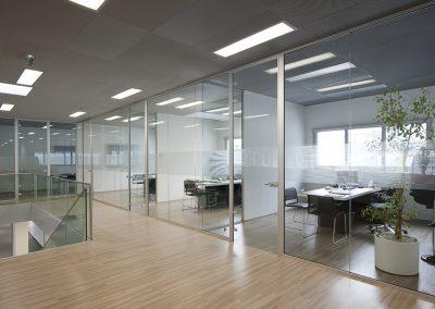 Cloison en Verre Fixe pour séparer vos espaces de travail