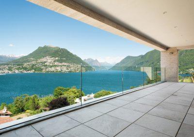 Garde corps en verre sur balcon - Nice