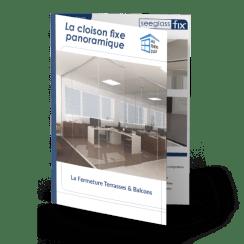 Brochure sur la cloison en verre fixe