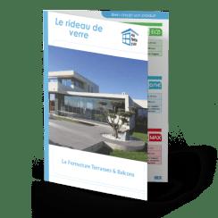 Rideau de verre pour terrasse, balcon et pergola