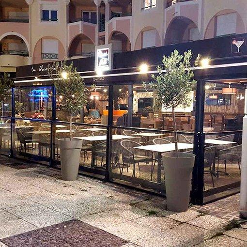 Paravent Rétractable - Terrasse de Boulangerie