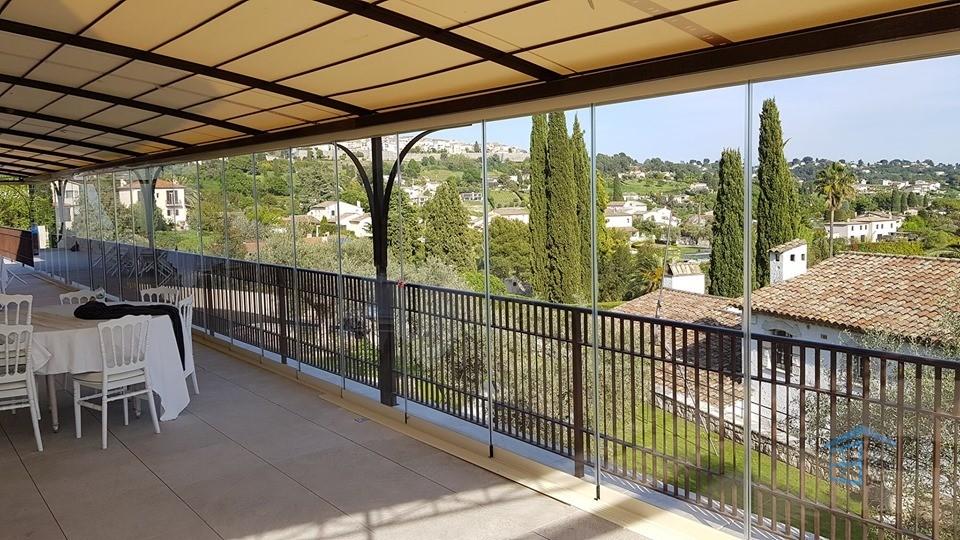 Panorama depuis la terrasse du restaurant Alain Llorca