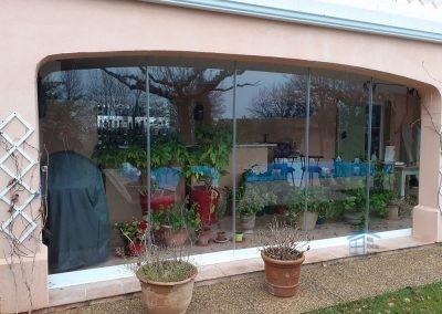 Cloison vitrée coulissante à La Roquebrussanne - Photo 2