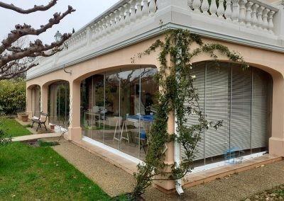 Cloison vitrée coulissante à La Roquebrussanne - Photo 4
