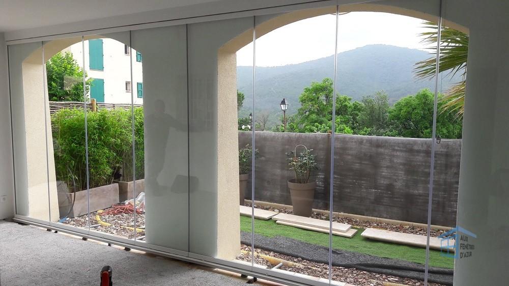 Mur de verre à Roquebrune - Photo 3